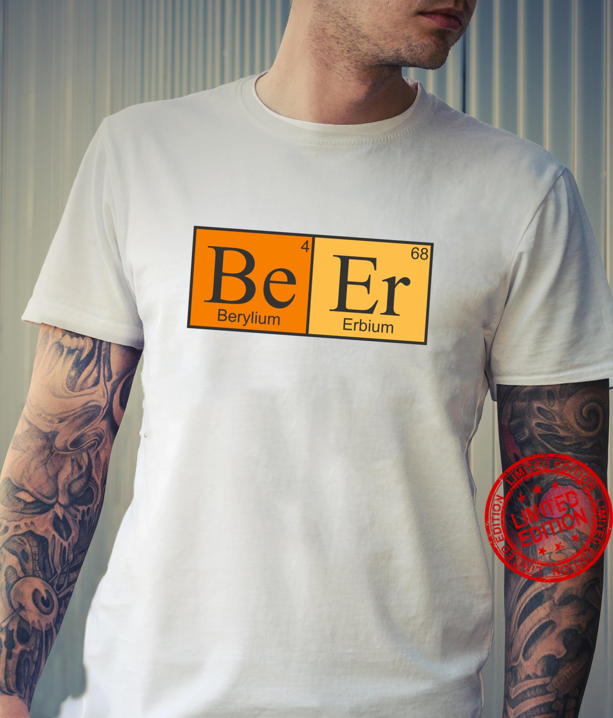 Beer Science Periodic Table Elements Shirt