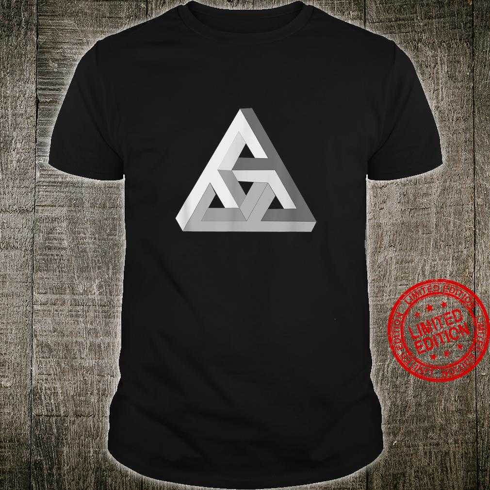 Geometric 3d abstract triangle Shirt