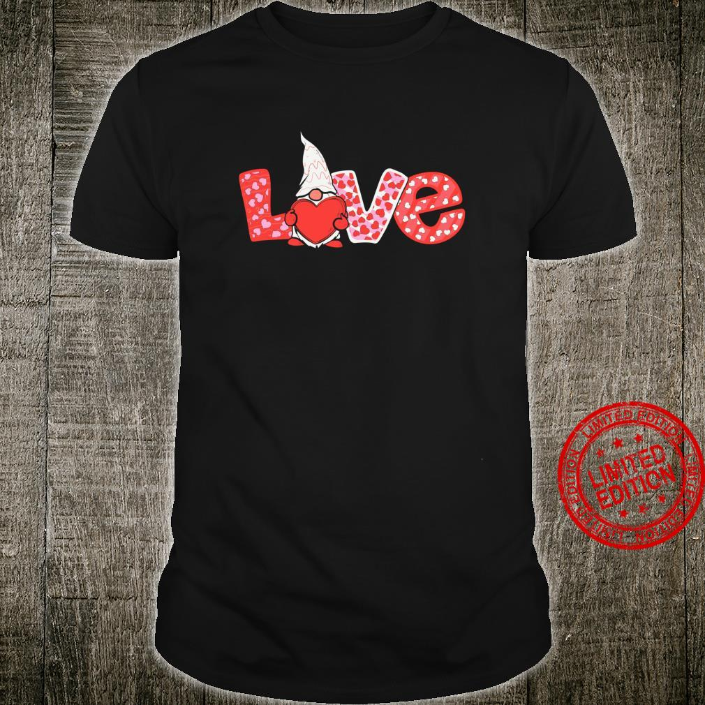 Happy Valentines Day Gnome Couple Matching Love Shirt