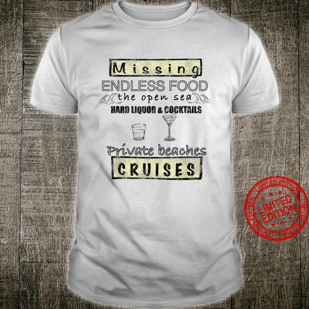 Missing Cruises Open Sea's and's Casual Shirt