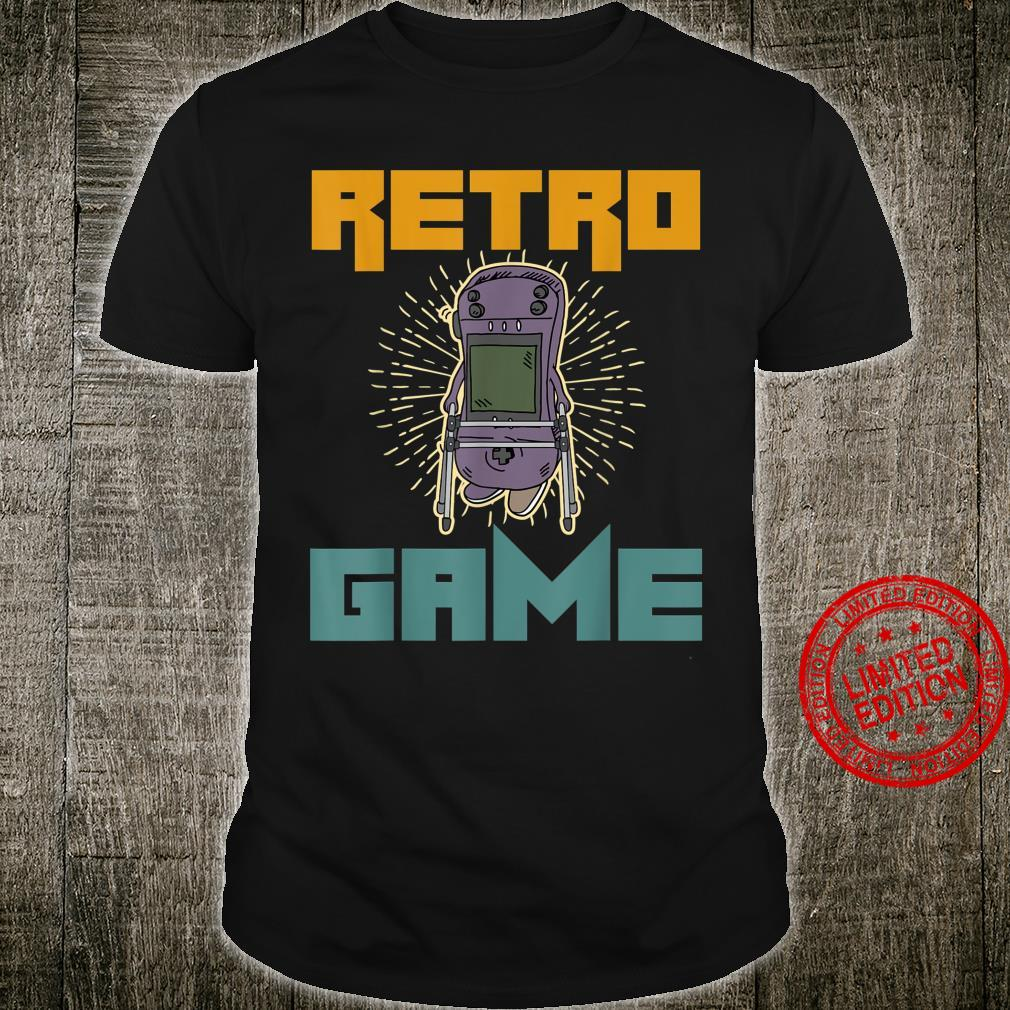 Retro Game Over Playing Controller Console Arcade Top Games Shirt